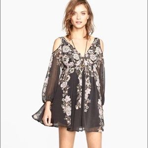 Free People penny lover dress in raven
